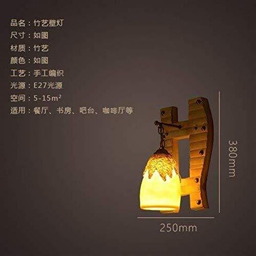 Onior el Norte de Europa Pared de la cabecera de la lámpara de pared Luces Minimalista, Salón Dormitorio restaurante de bambú Artes Escalera Bar ilumina el camino de Estudio del Corredor Hotel Villa S