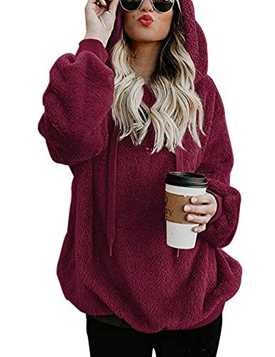 Women Pullover Long Sleeve Hoodies …