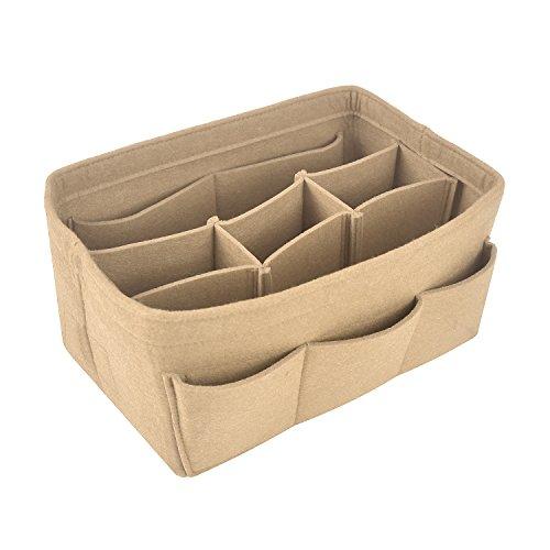 NOTAG Bag Organizer Vilt Pocket Organizer, Multi Pocket Liner Organizer Past Speedy Neverfull voor handtas, 4 groottes, 7 kleuren