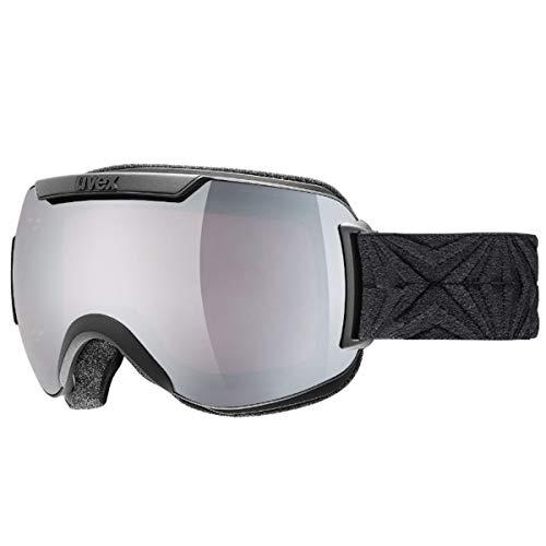 Uvex Downhill 2000 Skibrille Black - Scheibe: litemirror Silver S3 Double Lens