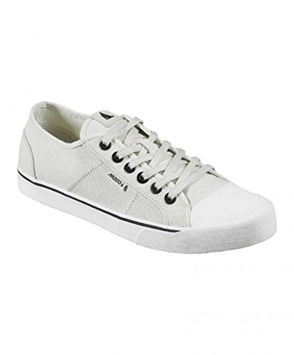 Musto 2017 064-LO Canvas Deck Shoes Sail White FS0920 Boot/Shoe Size UK - UK Size 7