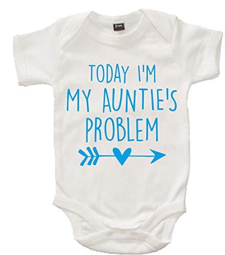 Edward Sinclair Barboteuse pour bébé Inscription Today I'm My Auntie's Problem - - 6 mois