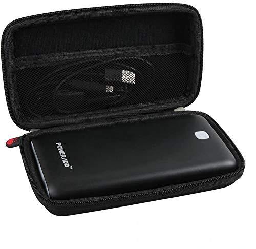 Hermitshell Hard EVA Travel Case Fits Poweradd Pilot X7 20000mAh Compact Power Bank Dual-Port External Battery Pack