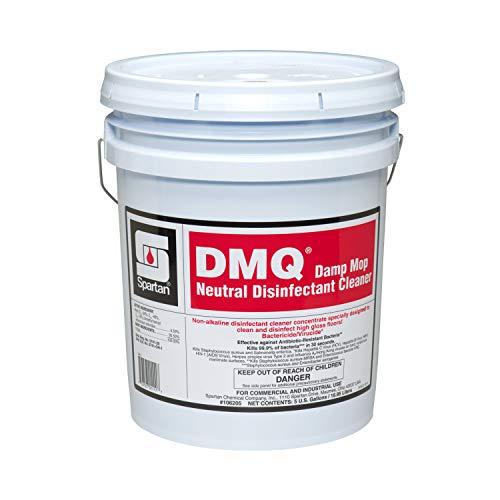 Spartan DMQ Damp Mop Neutral Disinfectant Cleaner- 5 Gal