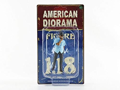 American Diorama Figur Weekend Car Show 1 Mann mit Hut und Sonnenbrille für 1:18 Modelle