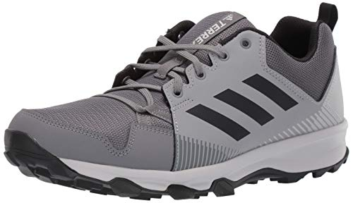 adidas outdoor Men's Terrex Tracerocker Trail Running Shoe, Grey Four/Black/Grey Three, 6 D US