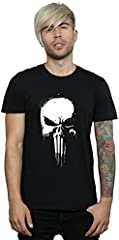 Marvel hombre Punisher Spray Skull Camiseta