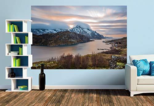 Premium Foto-Tapete Climbing Clouds (verschiedene Größen) (Size M   279 x 186 cm) Design-Tapete, Vlies-Tapete, Wand-Tapete, Wand-Dekoration, Photo-Tapete, Markenqualität von ERFURT