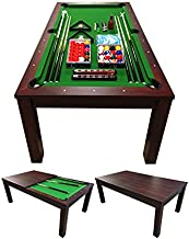 SIMBAUSA Pool Table 7FT Model MISSISIPI Snooker Full Accessories 7FT Become A Beautiful Table !! Coverage Plan Included in The Price !!