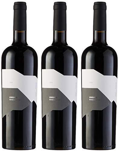 Umbria de Salinas Vino Tinto - 3 botellas x 750 ml - Total: 2250 ml