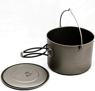 Toaks 1600ml Titanium Pot with Bail Handle