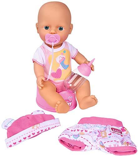 Simba 105032485 - New Born Baby mit Kleidungsset