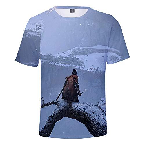 Diseño simple, clásico y atemporal, cómodo y con estilo. Camiseta de manga corta con la tendencia de moda más vendida Camiseta clásica de estilo versátil