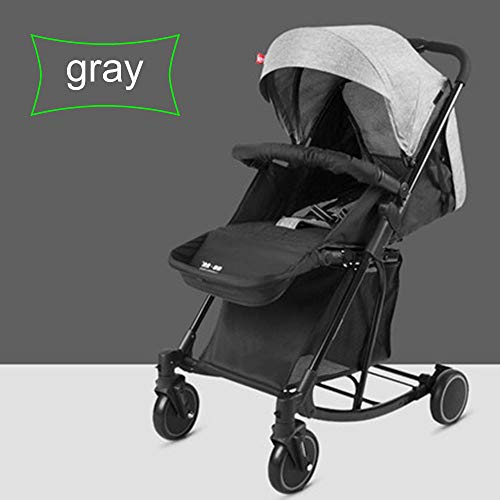 Why Choose HRD Stroller Shockproof Lightweight Pushchair, Compact chirden Buggy, Five-Point seat Bel...