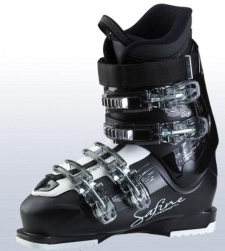 Tecno Pro Safine ST 50 LS - Botas de esquí para mujer, color negro/blanco