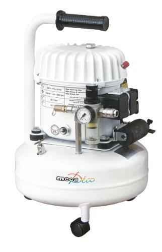 Mecadeco 425516 - Compresor silencioso (9 L)