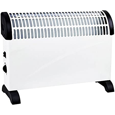 2000W Portable Electric Thermostat Convector Heater Winter 2KW Wall Mounted Fan