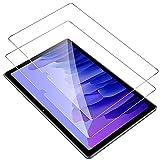 IVSOTEC für Samsung Galaxy Tab A7 Panzerglas, 9H Festigkeit, 2.5D Bildschirmschutz, [Einfache Installation][Anti-Kratzen][Anti-Bläschen], Schutzfolie für Samsung Tab A7 10.4 Zoll 2020, 2 Stück