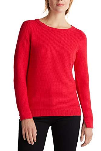 ESPRIT Damen 999Ee1I809 Pullover, Rot (Red 630), Large (Herstellergröße: L)