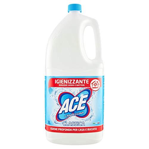 ACE CANDEGGINA CLASSICA Igienizzante Casa e Bucato, Flacone da 3LT
