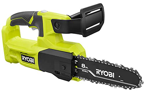 Ryobi ONE+ 18V 8 in. Cordless Battery Pruning Chainsaw (Tool Only- Battery and Charger NOT INCLUDED)