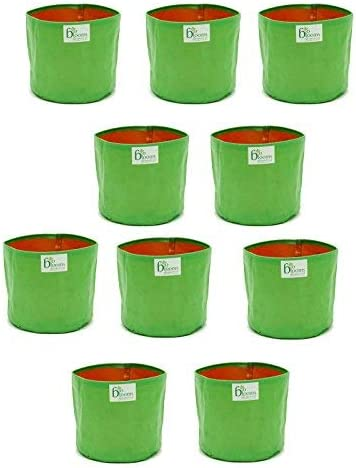 "Bio Blooms Terrace Gardening Grow Bag 12"" X 12"" (Pack Of 10)Bio_3C"