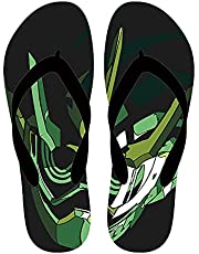ANMOGUN Flip Flops Mens Kamen rider slippers man vrouw Japanse manga flip-flops Heisei rider flip-flop sandalen zomer strand schoenen non-slip vloer schoenen-1102_39-40 (260mm)