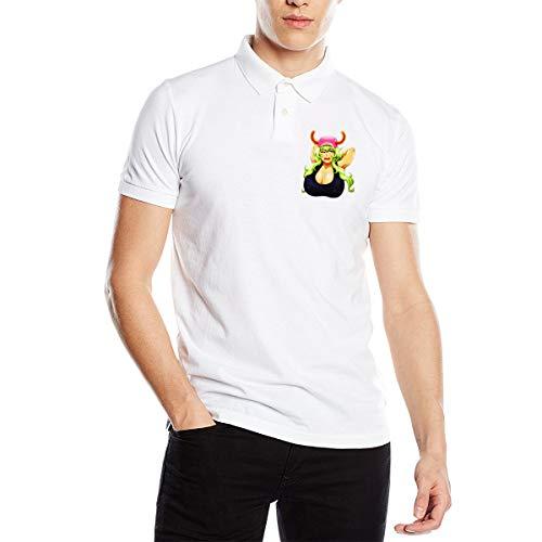 Lucoa Busty Bust Mens Polo Shirts Tee Casual Shirts