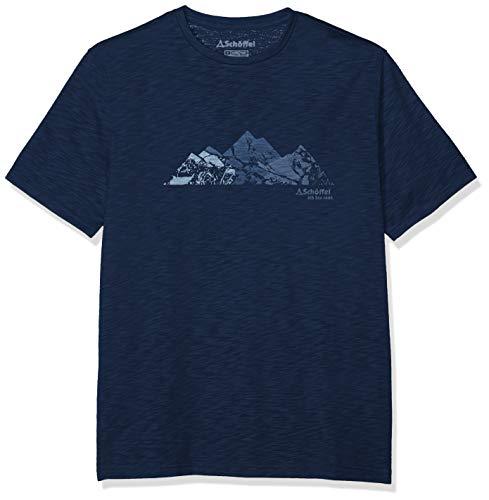 Schöffel Herren T Shirt Sao Paulo3' Dress Blues, 56