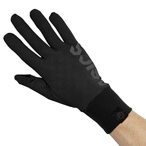 Asics 3013A033 Laufhandschuhe Basic für Erwachsene, Performance Black, M