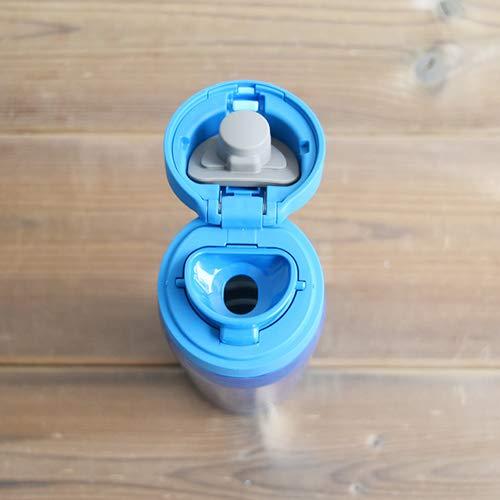 『タイガー 水筒 500ml サハラ マグ ステンレスボトル ワンタッチ 軽量 スカイブルー MCX-A501AK』の4枚目の画像
