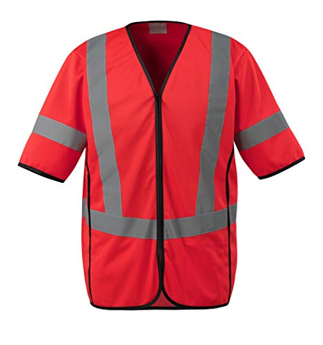 Mascot Packwood Warnweste 50216-310 Safe Supreme - Herren S Hi-Vis Rot