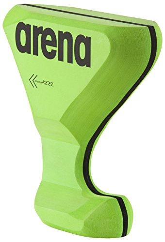 arena Unisex Pullboy/Schwimmbrett Swim Keel mit 6 verschiedenen Einsatzmöglichkeiten, Black-Acid Lime (65), One Size