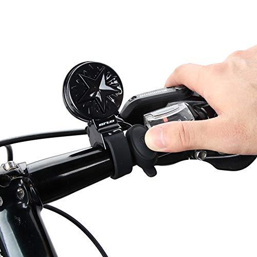 YWYW Bicicleta Campana, USB De Alta Decibelios Eléctrica Altavoz Resistente Al Agua 4 Tipos De Efectos De Sonido De Silicona Suave De La Correa Universal De La Campana De La Bicicleta