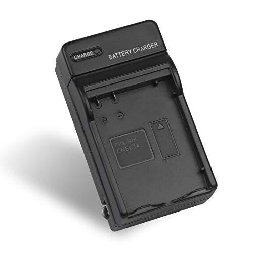 EN-EL14 EN EL14a EN-EL14+Battery Charger MH-24 for Nikon D3100, D3200, D3300, D3400, D3500, D5100, D5200, D5300, D5500, D5600, Df DSLR, Coolpix P7000, P7100, P7700, P7800 Cameras