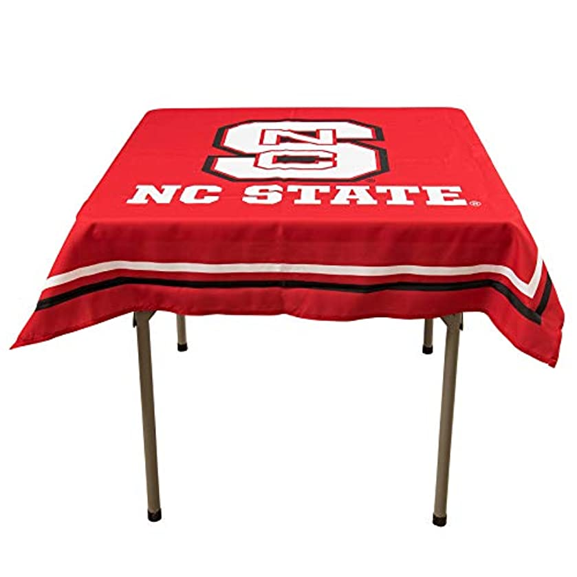 College Flags and Banners Co. North Carolina State Wolfpack Logo Tablecloth or Table Overlay