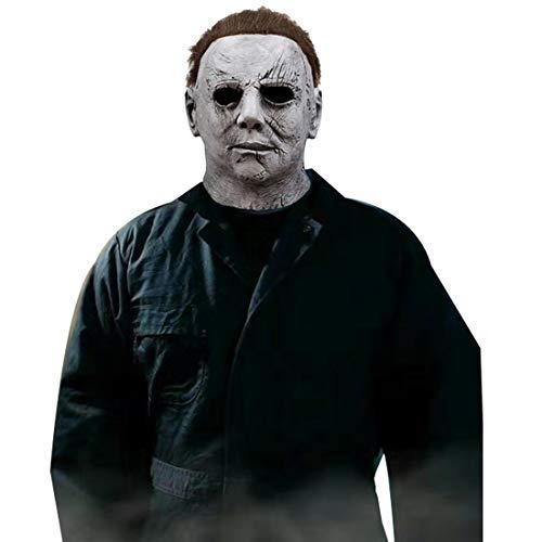 Halloween Michael Myers Mask, One Size Grey