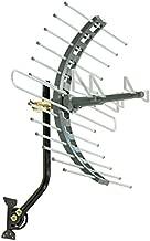 GE Pro Outdoor TV Antenna, Long Range Antenna, 4K 1080P VHF UHF Digital HDTV Antenna, J Mount Included, Weather Resistant, Indoor Attic Mountable, 29884