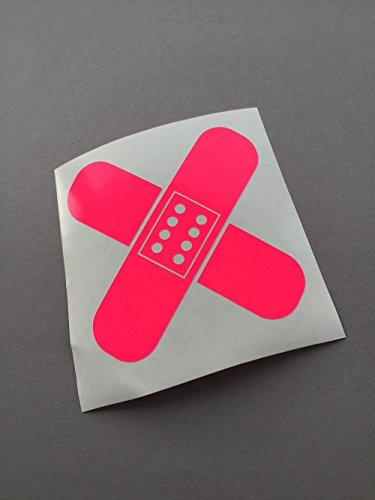 Pflaster Stickerbomb NEON PINK Auto Aufkleber Sticker Tuning JDM DUB Style