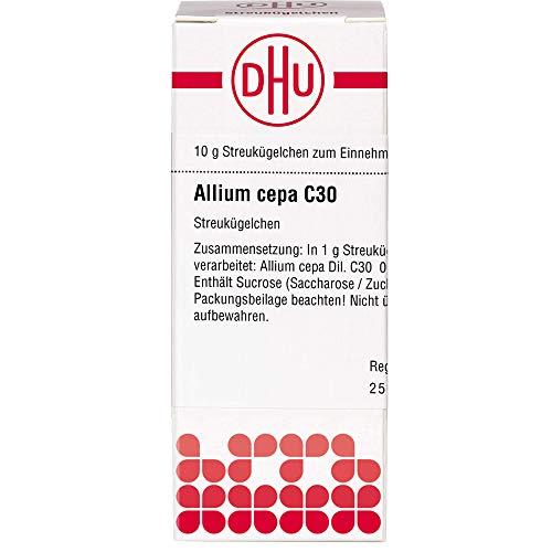 DHU Allium cepa C30 Streukügelchen, 10 g Globuli
