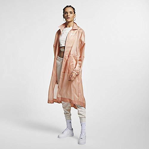 Nike Veste-AR3090 Femme Veste Femme Rose Gold/White FR : M (Taille Fabricant : M)