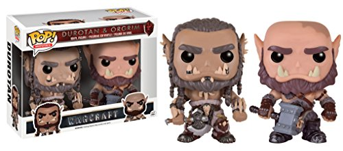 Funko - Figurine World of Warcraft Movie - 2 Pack Durotan & Ogrim Exclu Pop 10cm - 0849803093150