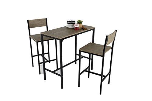 Kit Closet Coimbra - Set Tisch 2 Barhocker