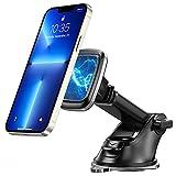 Goigrn Porta Cellulare da Auto, Supporto Cellulare Auto Magnetico a 360° con Ventosa e Braccio Estensibile su Cruscotto Parabrezza, Porta Telefono Auto Compatibile con iPhone, Samsung, Huawei, Ecc.