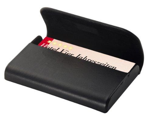 SIGEL VZ270 Custodia per biglietti da visita, pelle Torino, con chiusura magnetica nascosta, 1 pz.