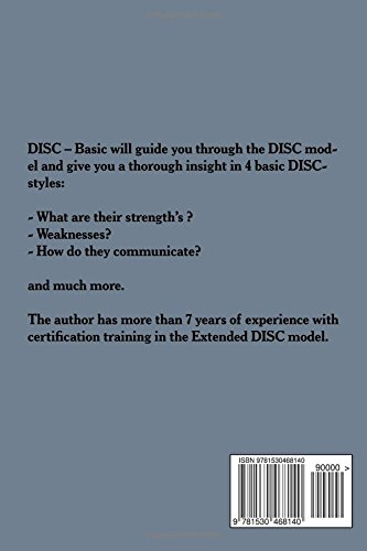 DISC - Basic knowledge: Get to know the basics about DISC