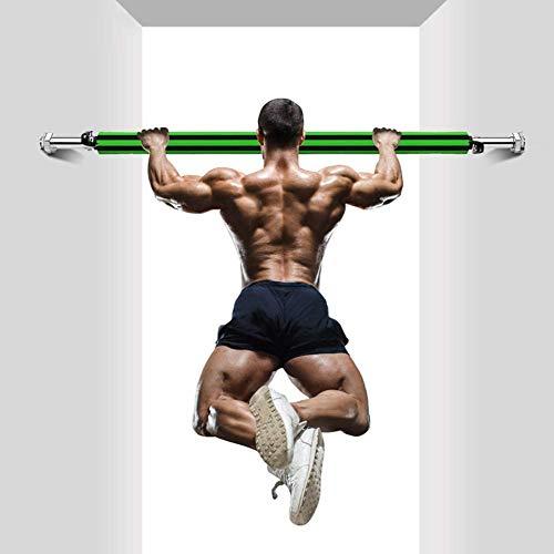 HyXia massieve spons vaste gesp verstelbare deur horizontale stangen oefening hometraining fitnessstudio pull up trainingsstang sport fitness