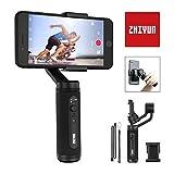 Zhiyun Smooth Q2 Smartphone Gimbal Handy Stabilisator 3-Achsen Handheld Stabilizer, bis zu 260g 86mm...