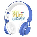 Kids Headphones, HD30 Volume Limiting Children Headset with...
