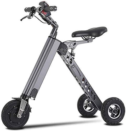 FEE-ZC Universal Adults Folding Electric Mountainbike Tragbares Fahrrad Geschwindigkeit bis zu 20 km/h EBike Pedal Assist with Throttle